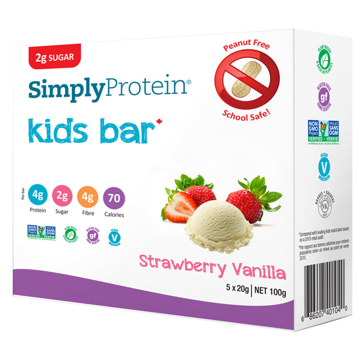 Simply Protein Kids Snack Bars 5 pack at Natural Food Pantry