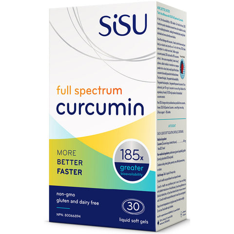 SISU CURCUMIN FULL SPECTRUM SOFTGELS
