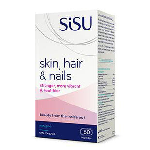 Sisu Skin, Hair & Nails 60 vcaps
