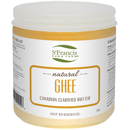 St Francis Herb Farm Ghee 370 g at Natural Food Pantry