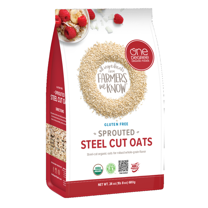 One Degree Sprouted Steel Cut Oats