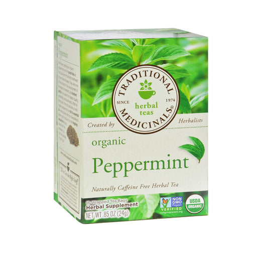 Traditional Medicinals Peppermint Tea