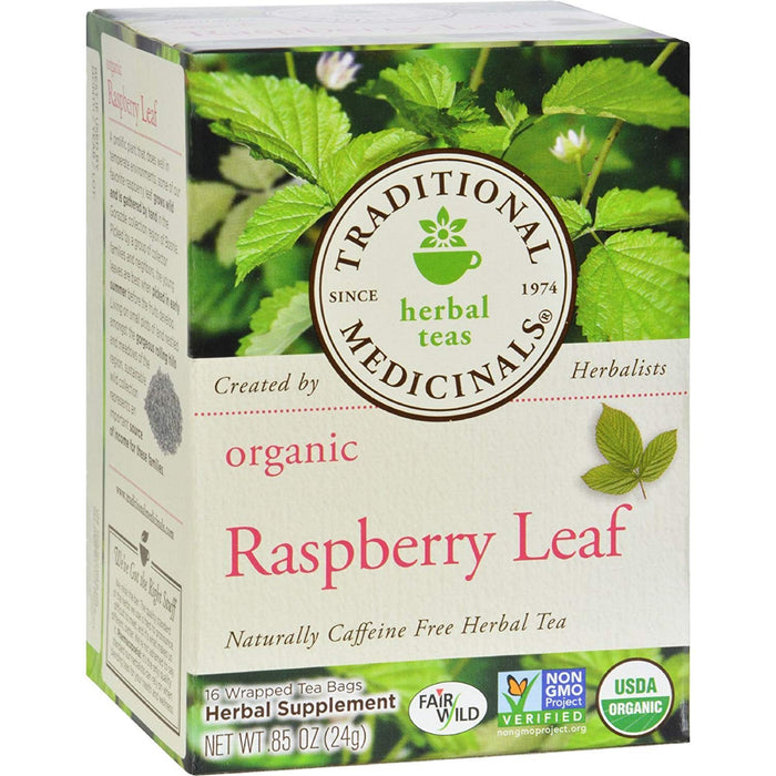 Traditional Medicinals Raspberry Leaf Tea