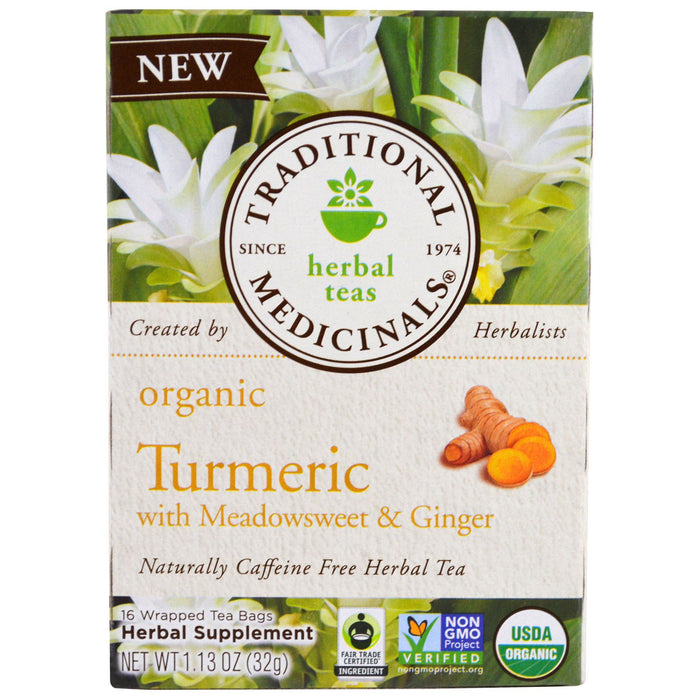 Traditional Medicinals Turmeric with Ginger Tea