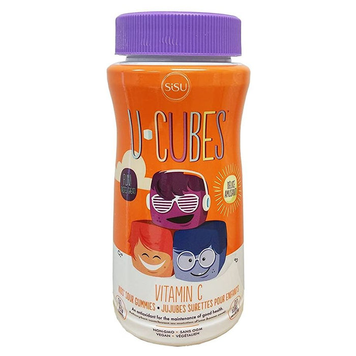 Sisu Kids U-Cubes Vitamin C 90 gummies