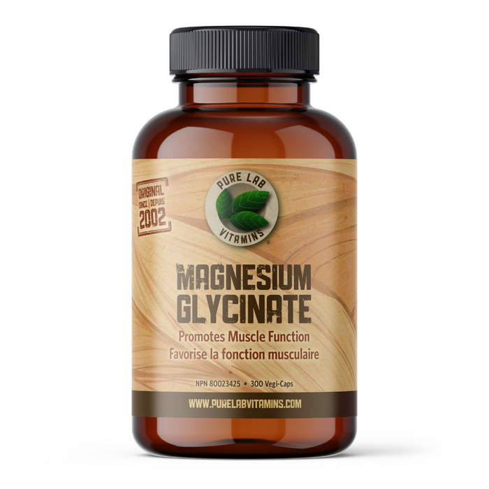 Pure Lab Magnesium Glycinate 300 caps BEST BUY