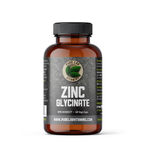 Pure Lab Vitamin Zinc Glycinate 60 veg caps