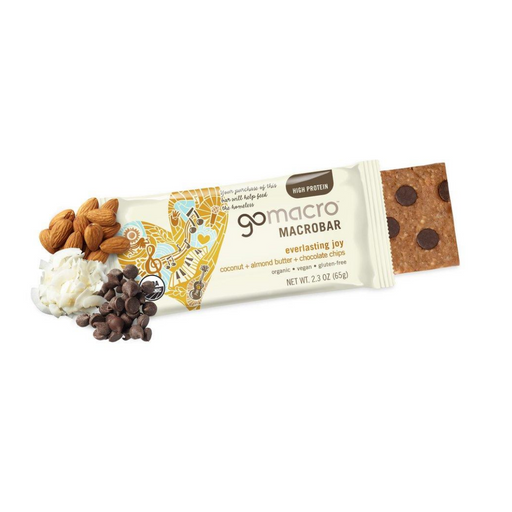 Go Macro Coconut Almond Butter Chocolate Chip 65g
