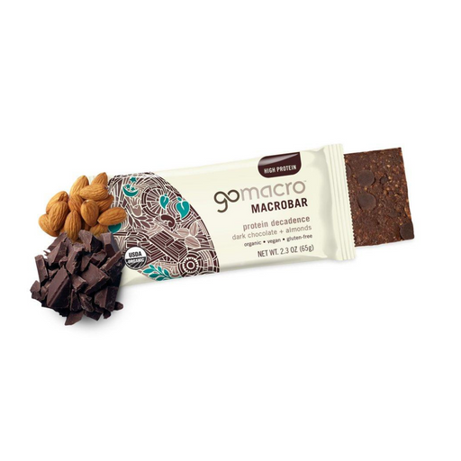 Go Macro Dark Chocolate Almond Bar 65g