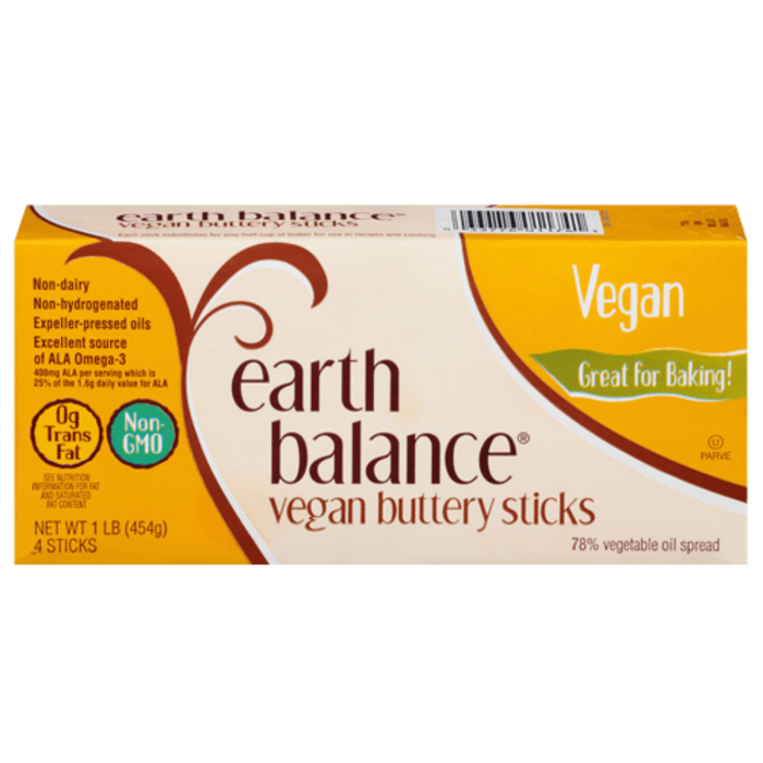 Earth Balance Vegan Buttery Sticks 454g