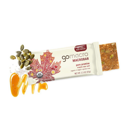 Go Macro Maple Sea Salt Bar 65g