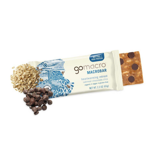 Go Macro Oatmeal Chocolate Chip Bar 65g