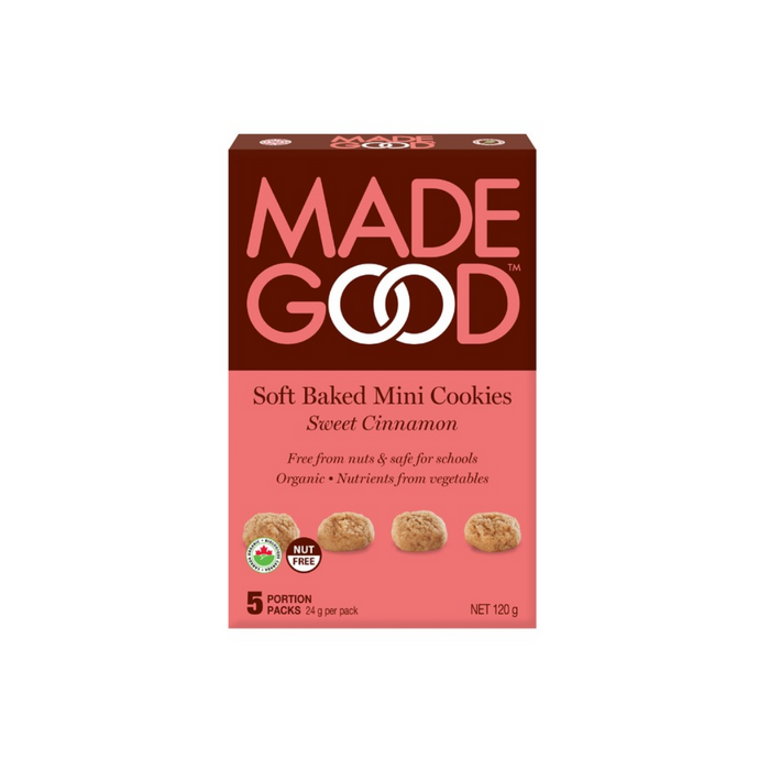 Made Good Soft Baked Mini Cookies Sweet Cinnamon 5 pack