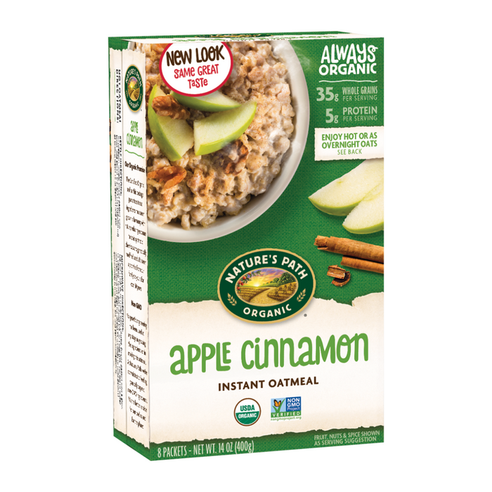 Nature's Path Apple Cinnamon Hot Oatmeal Cereal