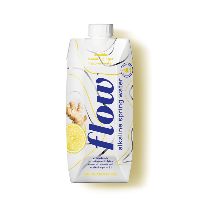 Flow Water Lemon Ginger 500ml