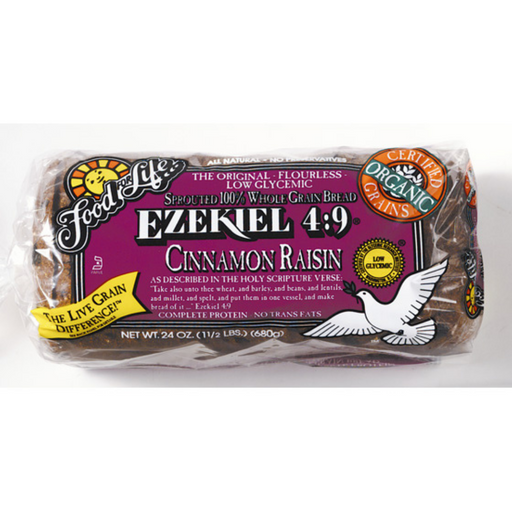 Food For Life Ezekiel Cinnamon Raisin Bread 680g