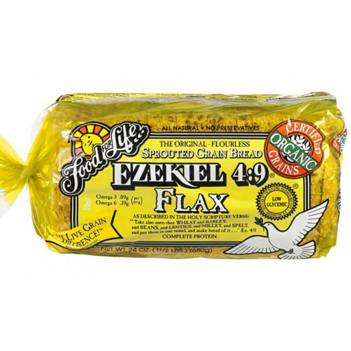 Food For Life Ezekiel Flax Bread 680g