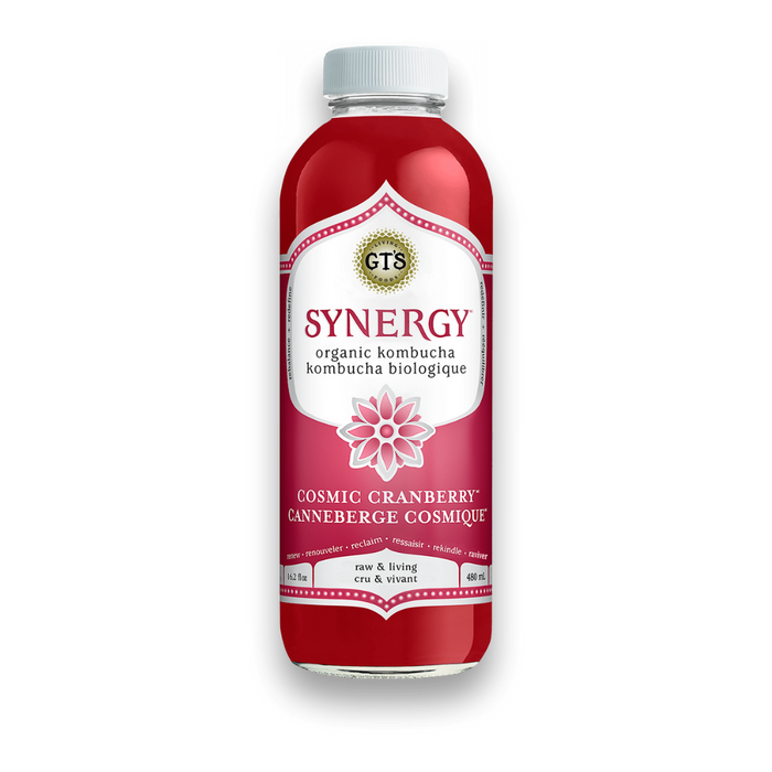 GT's Kombucha Cosmic Cranberry 480ml