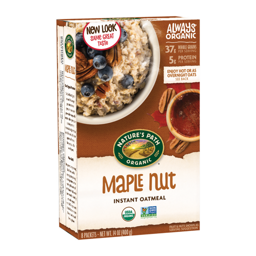 Nature's Path Maple Nut Hot Oatmeal Cereal