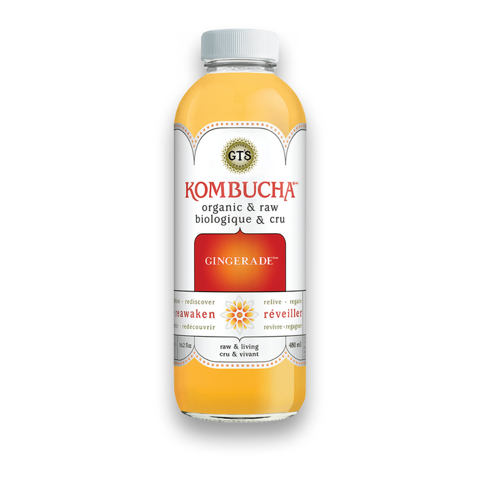 GT's Kombucha Gingerade 480ml
