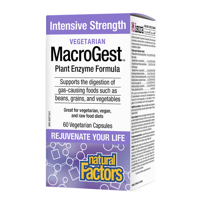 Natural Factors Macrogest Vegetarian 60vcaps