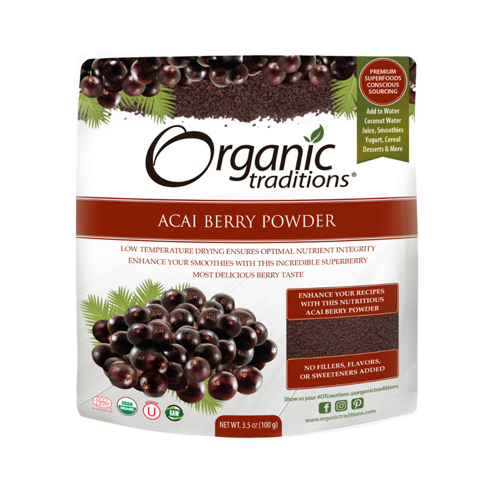 Organic Traditions Acai Berry Powder 100g