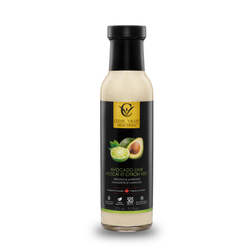 Cedar Valley Salad Dressing Avocado Lime 275ml