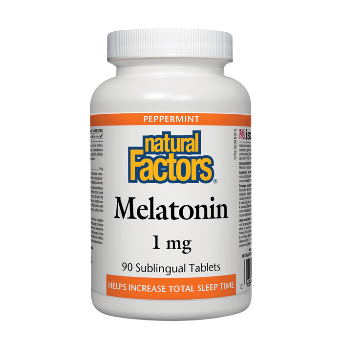 Natural Factors Melatonin 1mg 90tabs