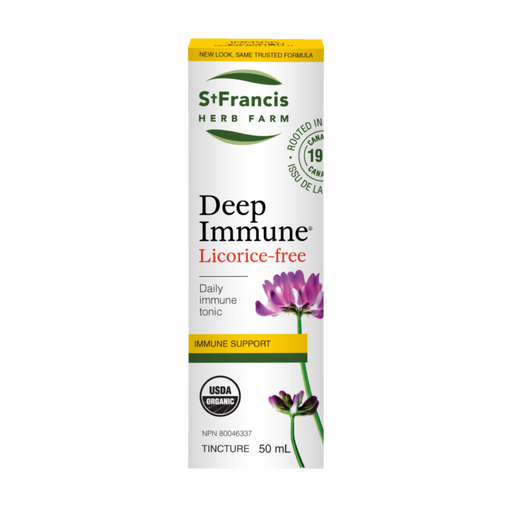 St Francis Deep Immune Licorice Free 50ml