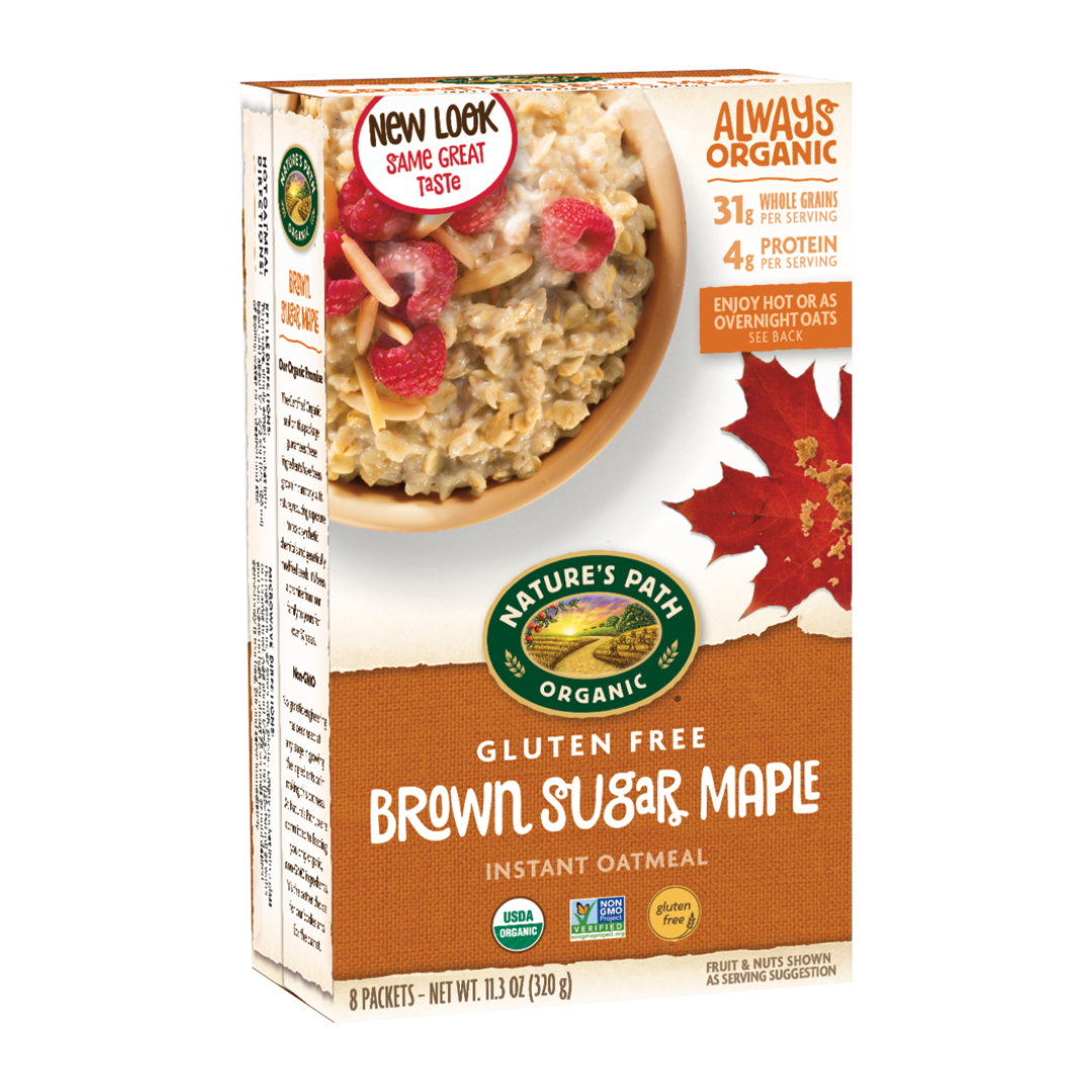 Nature S Path Gluten Free Brown Sugar Maple Hot Oatmeal Cereal Natural Food Pantry Online Storepoint Balance Span Class Swell Point Balance 0 Span