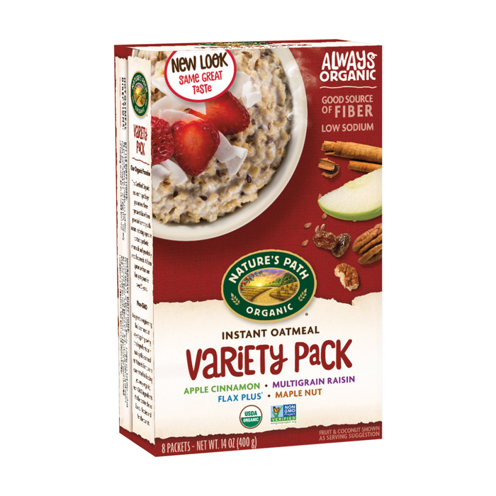 Nature's Path Gluten Free Variety Hot Oatmeal Cereal