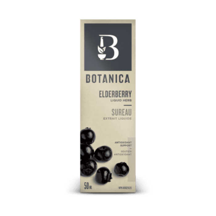 Botanica Elderberry Liquid Herb 50ml