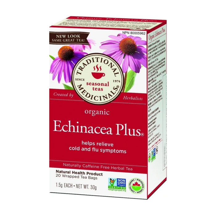 Traditional Medicinals Echinacea Plus