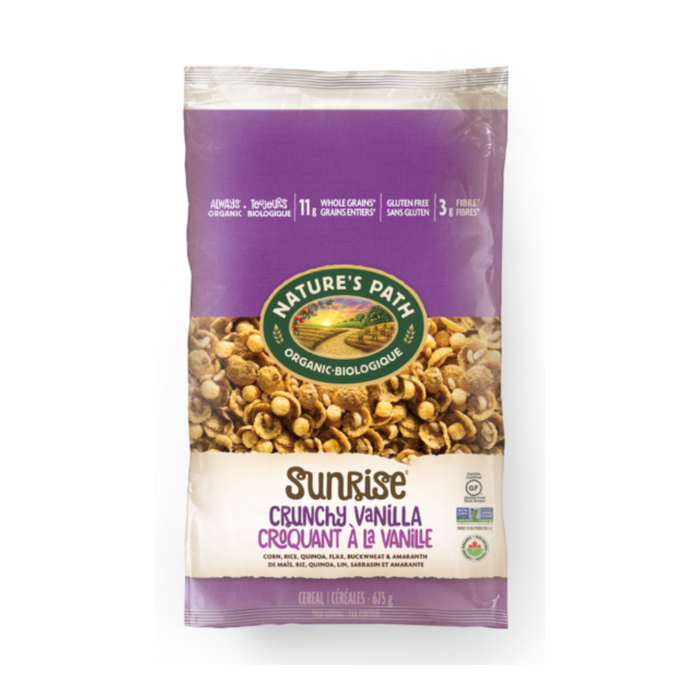 Nature's Path Eco Pk Crunchy Vanilla Sunrise 675g
