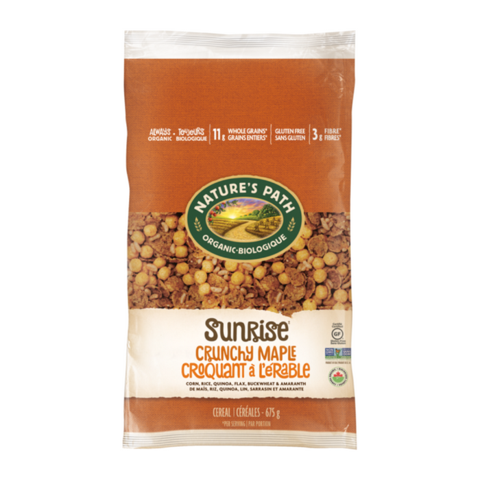 Nature's Path Eco Pk Crunchy Maple Sunrise 675g
