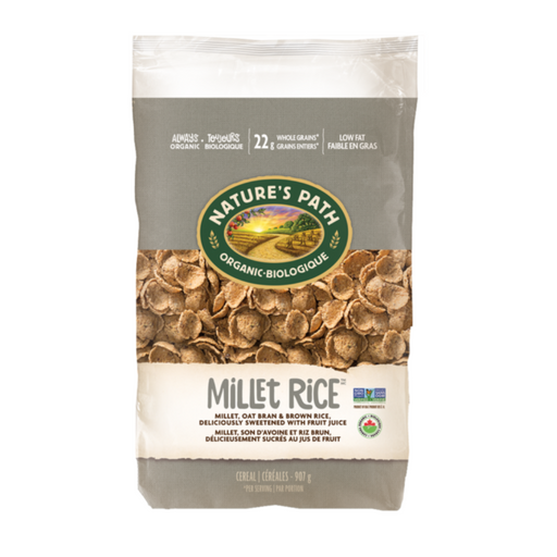 Nature's Path Eco Pk Millet Rice Flakes Cereal 907g