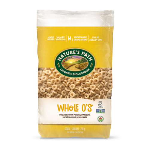 Nature's Path Eco Pk G/F Whole O's Cereal 750g
