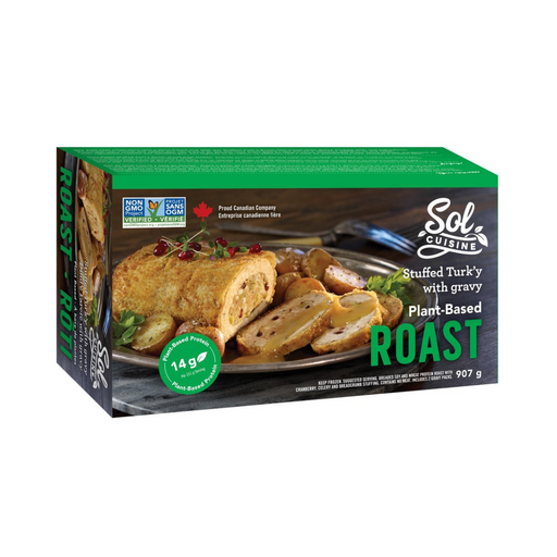 Sol Cuisine Stuffed Turk'y with Gravy 907g