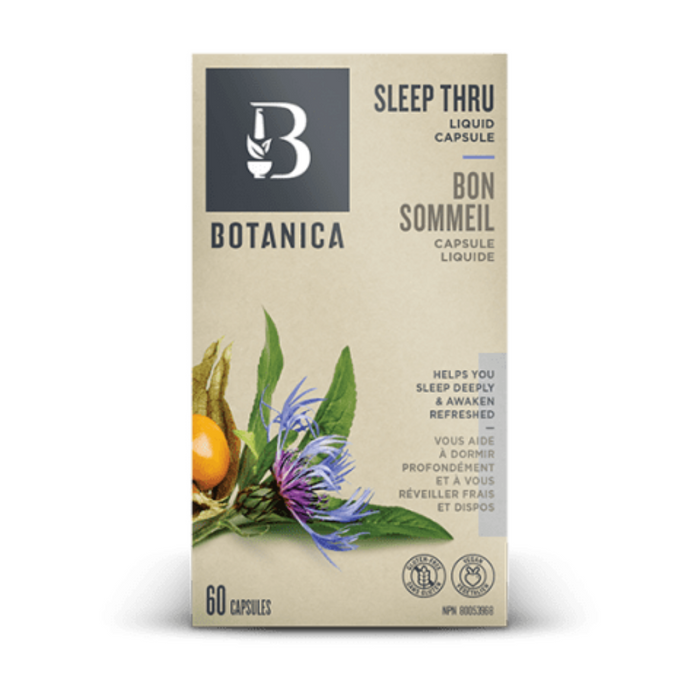 Botanica Sleep Thru 60 Liquid Capsules