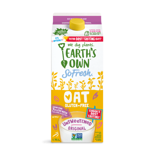 Earth's Own Unsweetened Original Oat 1.75L