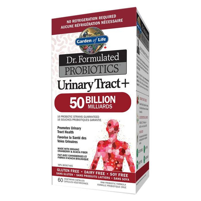 Dr. Formulated Urinary Tract+ 50 Billion 60 caps: Garden of Life