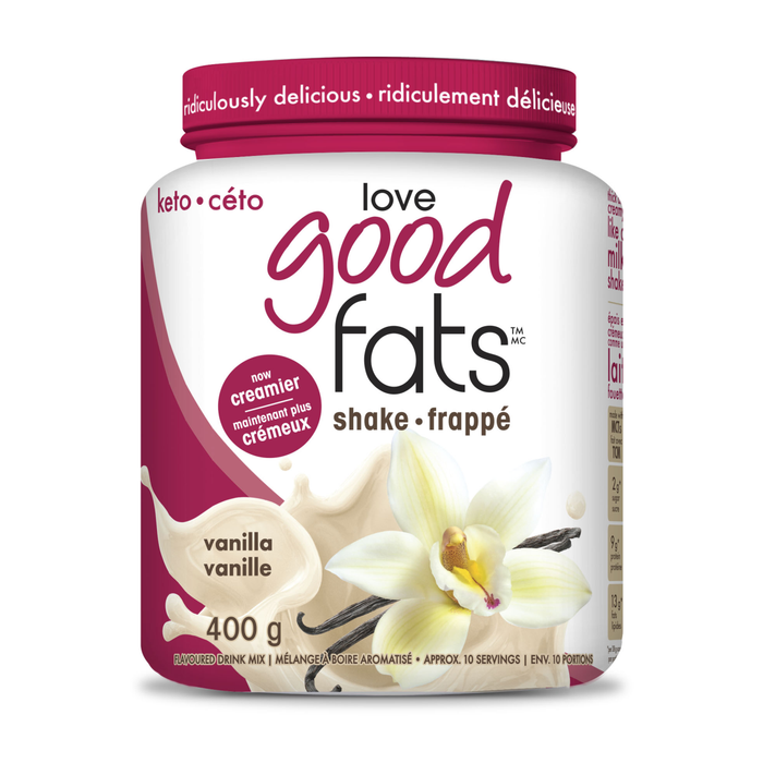 Love Good Fats Vanilla Protein Shake 400g