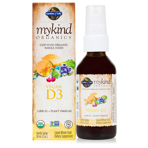 Garden of Life Mykind Organics D3 Spray