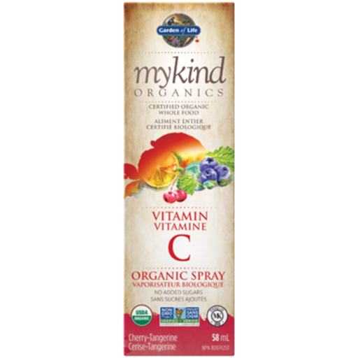 Garden of Life Mykind Organics Vit C Spray Orange