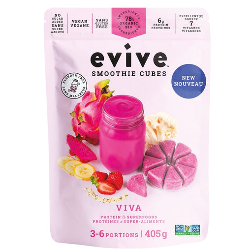 Evive Organic Smoothie Cubes Viva 405g
