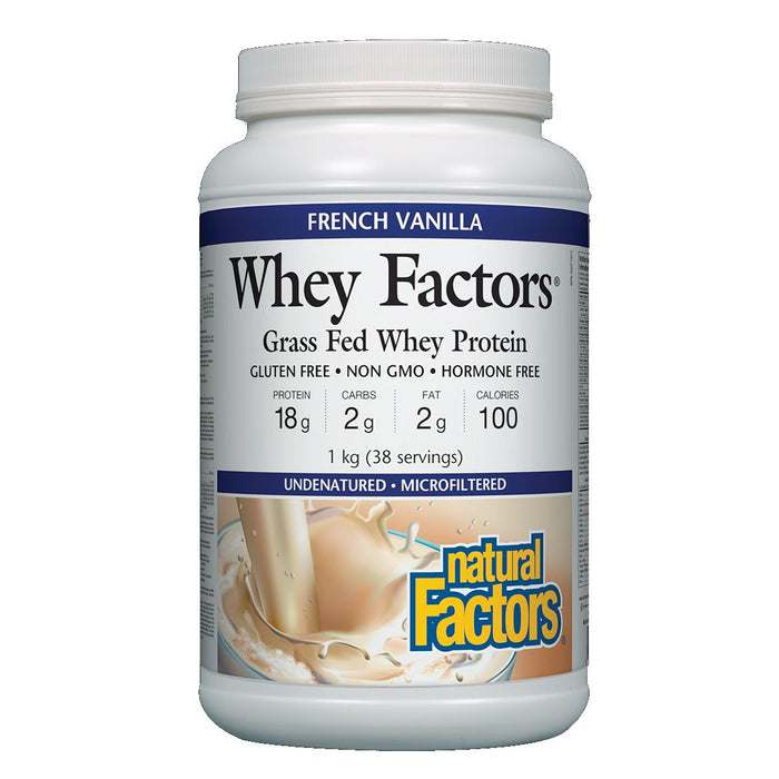 Natural Factors Whey Factors 1kg Best Buy