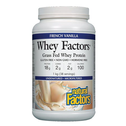 Natural Factors Whey Factors Best Buy