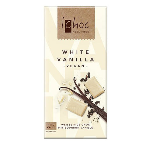 ichoc White Vanilla Vegan Chocolate