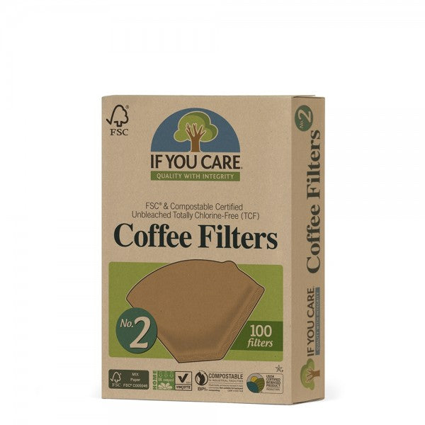 If You Care #2 Coffee Filter