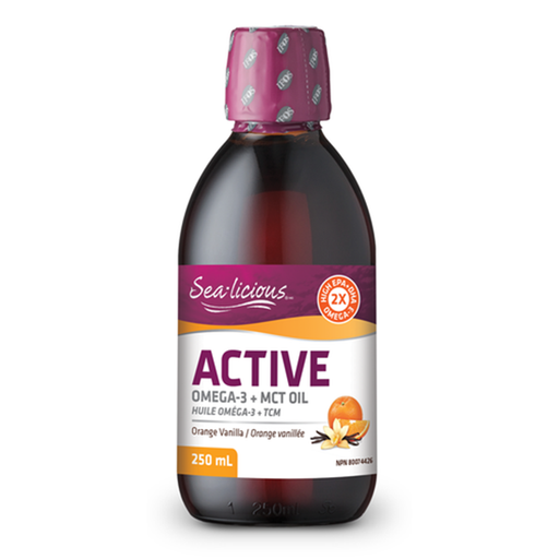 Sea-licious Active Omega-3 with MCT Oil